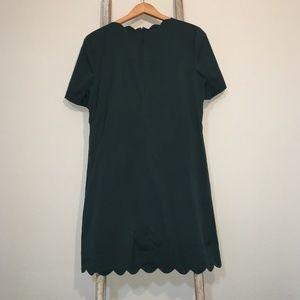 Halogen Scallop Shift Dress